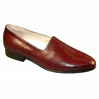 Giorgio Brutini Men's Geniunie Kidskin Loafer 24437-Wine-10 W