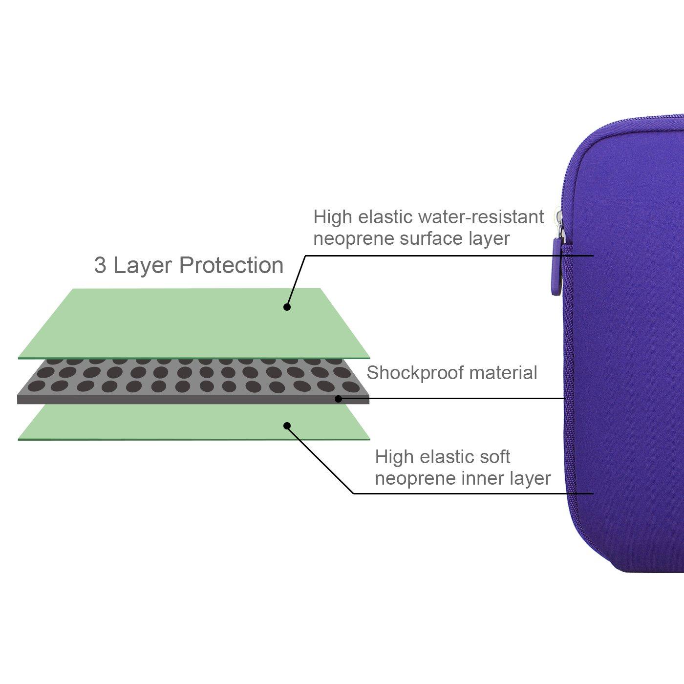 Arvok 11 11,6 Pollici Sleeve per Laptop//Impermeabile Custodia di Neoprene Borsa//Caso Protettiva//Borsa da Trasporto per MacBook//Acer//dell//Lenovo//HP//Samsung//Sony//Toshiba//Ultrabook