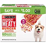 Purina Moist & Meaty Burger With Cheddar Cheese