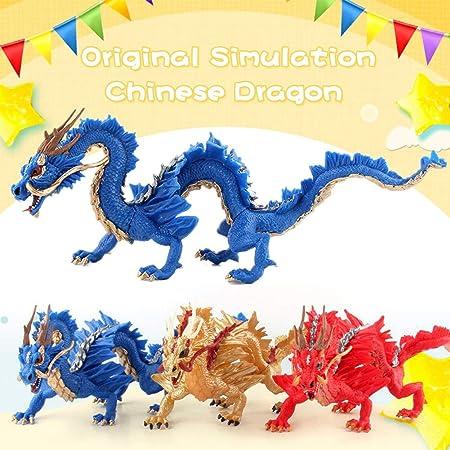Dragón chino Juguetes para niños,Bloomma PVC Material seguro ...