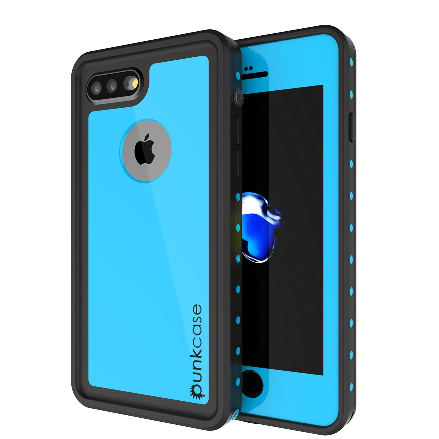 best service b2f5e f958a iPhone 8 PLUS Waterproof Case, Punkcase [StudStar Series] [Slim Fit] [IP68  Certified] [Shockproof] [Dirtproof] [Snowproof] Universal Armor Cover for  ...