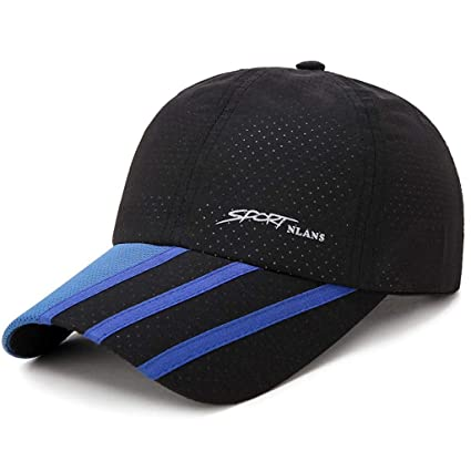bd8628ff Image Unavailable. Image not available for. Color: MTX-Hats Baseball Cap  Summer Outdoor Sports Men and Women Breathable Perforation Quick-Drying