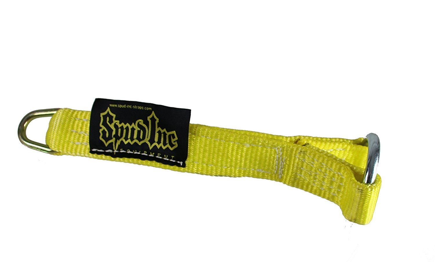 Spud Yellow Strap Loading Pin for Olympic Weight Plates. Use for Lat Pulldowns and more (18 inches Long)