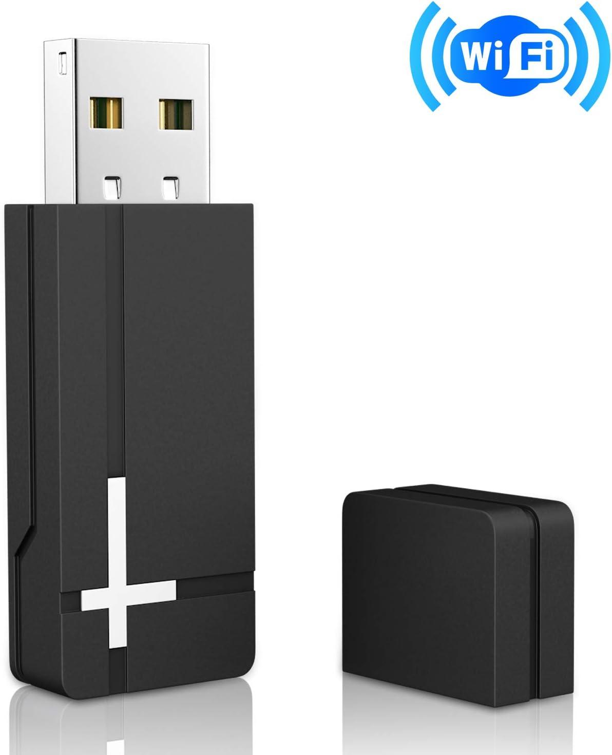 UKor Xbox One Wireless Adapter for Windows 10, 8.1, 7, Microsoft Xbox Controller Wireless Adapter Black