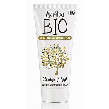 312c4ec2c841 Marilou Bio Crème de Nuit Argan Tube de 50 ml  Amazon.fr  Beauté et ...