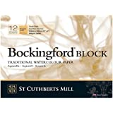 "Bockingford Watercolour Block 140lb/300gms 9x12""/228x305mm Rough"