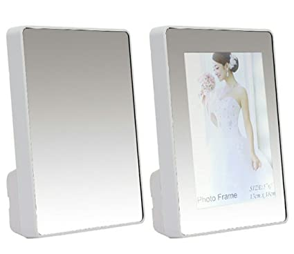 Buy ANANT GIFT GALLERY Plastic Magic Mirror/Photo Frame (16x2x22cm ...