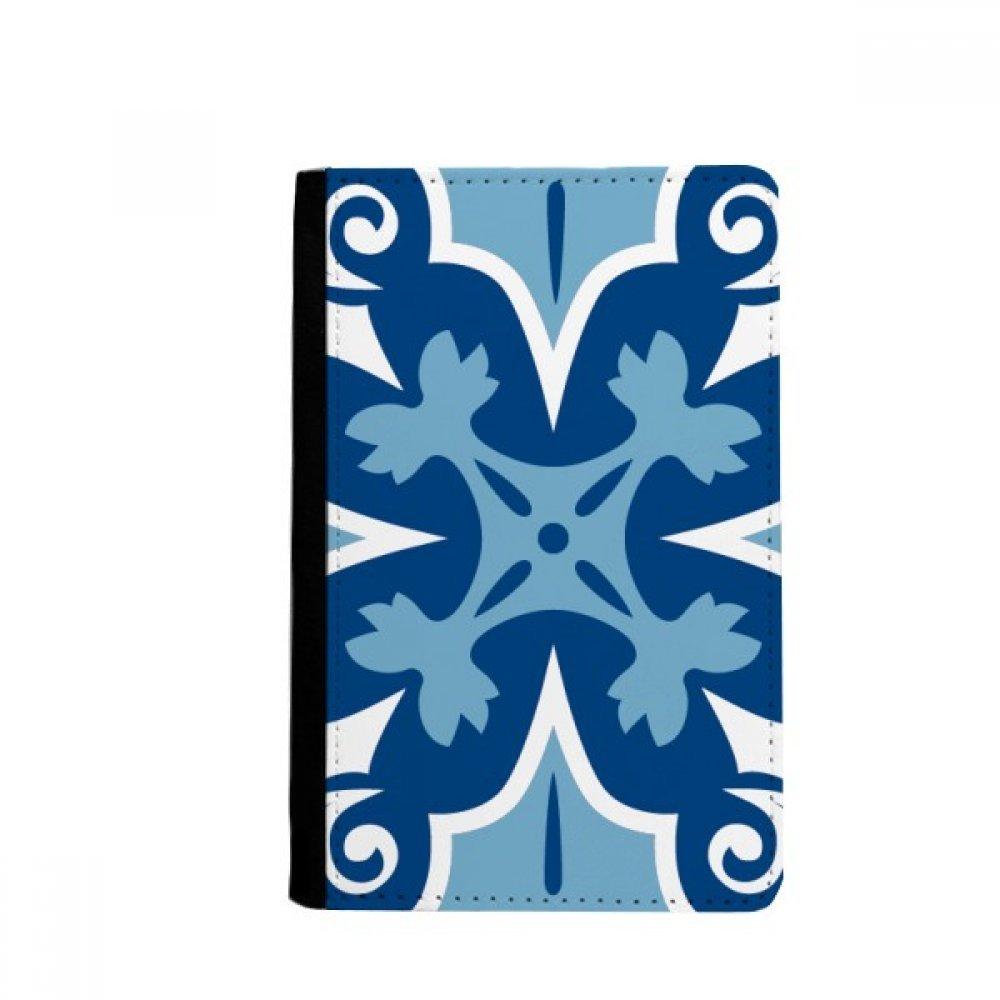 beatChong Marruecos Flor Decorativa Azul Pasaporte ...