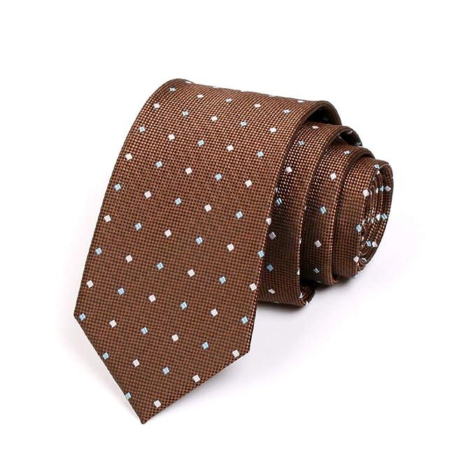 YOUZHILAN Mens Dot Retro Corbata para bodas, novios, padrinos de ...