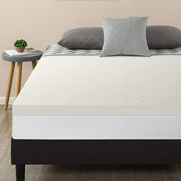 Best Price Mattress 3 Inch Ventilated Memory Foam Topper Mattress Pad