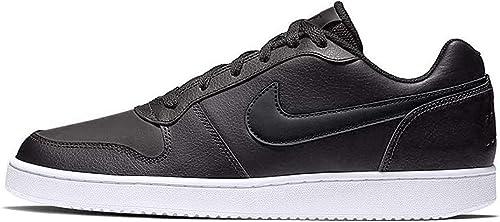 NIKE Ebernon Low Damen Sneaker Schwarz Schuhe, Größe:39