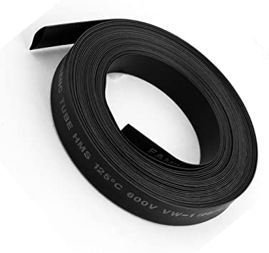 1 Gaine thermoretractable en polyolefine RETYLY 30mm 2 Noir 1M