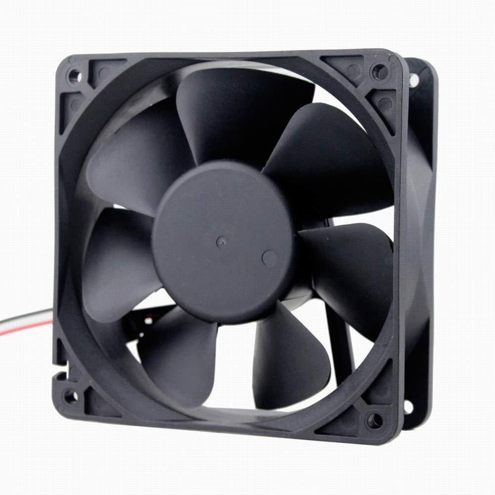 GDSTIME 120mm x 120mm x 38mm 5 inch 12v Dc Brushless Cooling Fan (12v)
