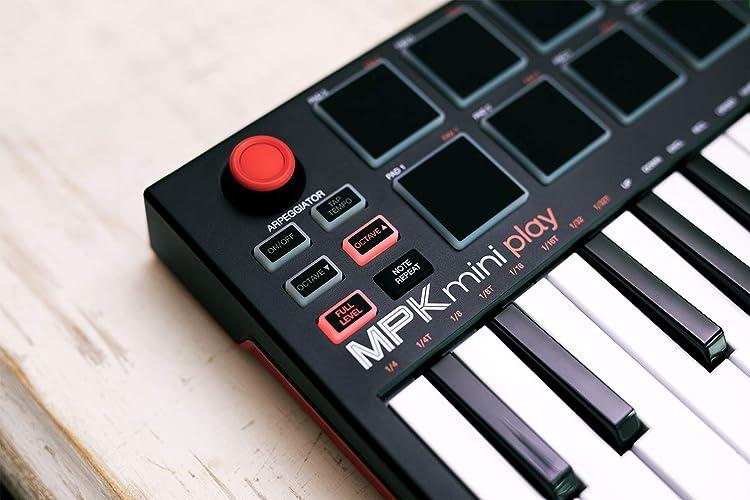 MPK Mini Play:コントロール