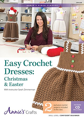 Easy Crochet Dresses: Christmas & Easter Class DVD: