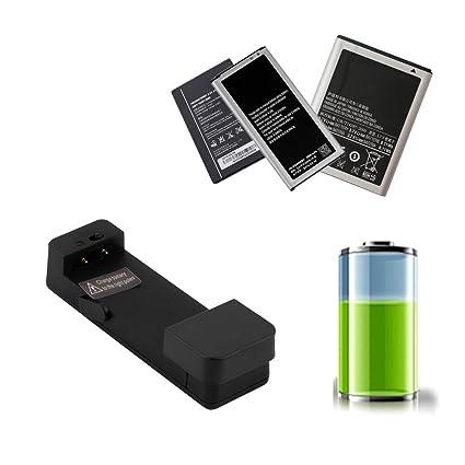 Cargador de batería externo universal negro del teléfono móvil Cuna del muelle para Smartphone
