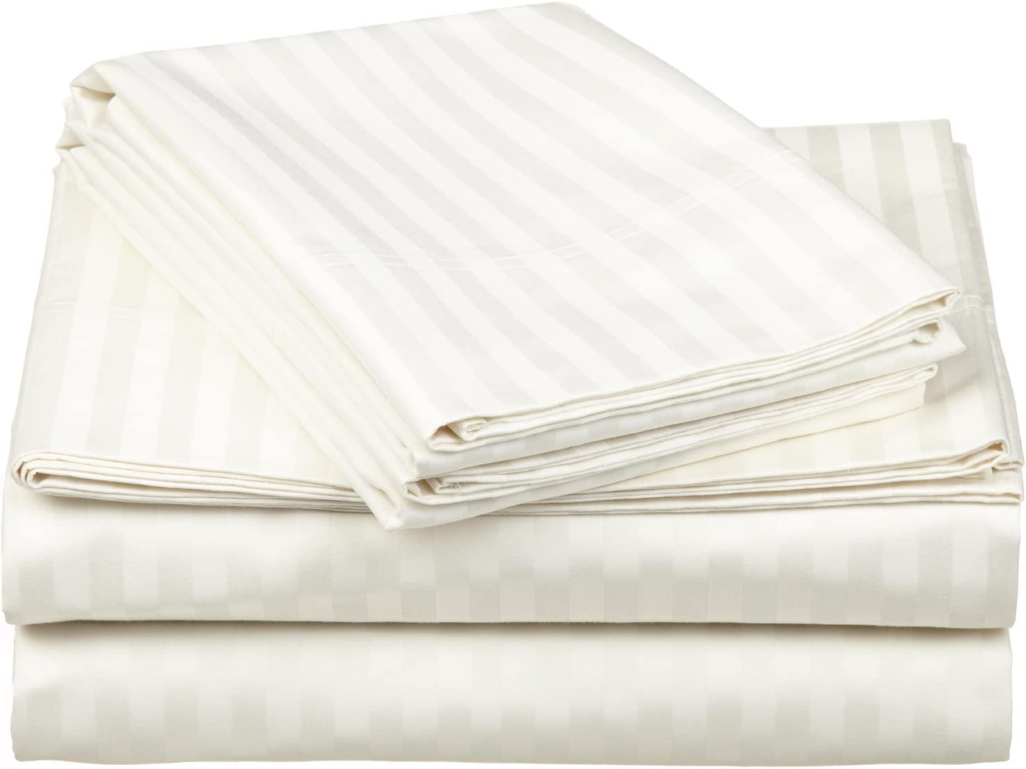 Superior Impressions By Luxor Treasures 100 Egyptian Cotton 650 Thread Count Sheet Set Ivory Full 4 Piece Home Kitchen