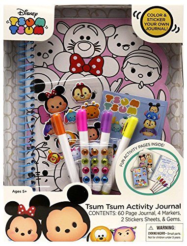 Tara Toy Tsum Activity Journal Playset
