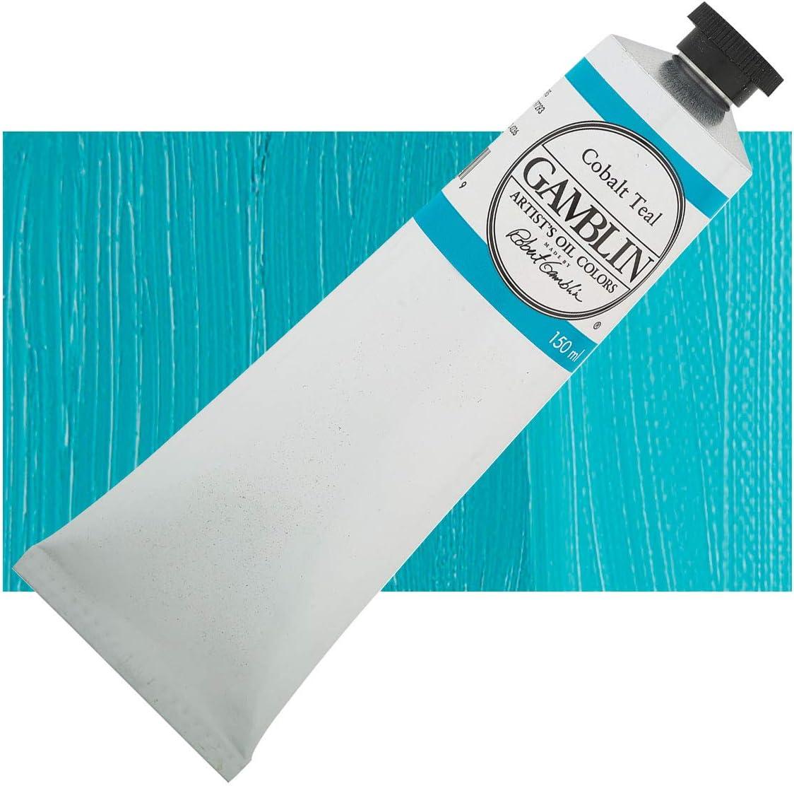 5.07 oz. Artists' Grade Oil Color: Cobalt Teal