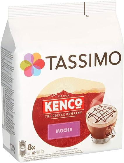 Tassimo Kenco Mocha Coffee Capsules Pack Of 5 Total 40 Pods 40