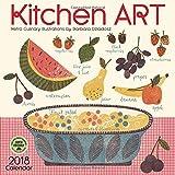 Kitchen Art 2018 Wall Calendar