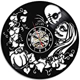 Cheap Nightmare Before Christmas Vinyl Wall Clock Great Gift