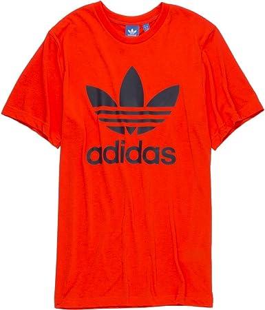 elegante en estilo 100% genuino disfruta de un gran descuento Amazon.com: adidas Originals Trefoil 2 T-Shirt - Short-Sleeve ...