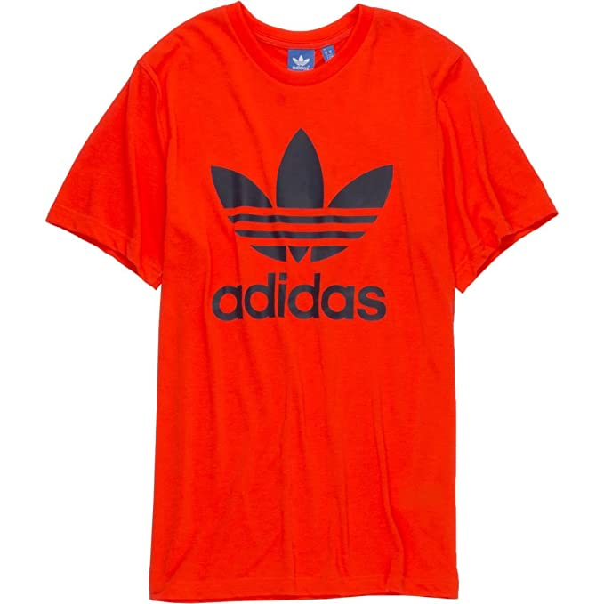 78a646052964a Amazon.com: adidas Originals Trefoil 2 T-Shirt - Short-Sleeve - Mens ...