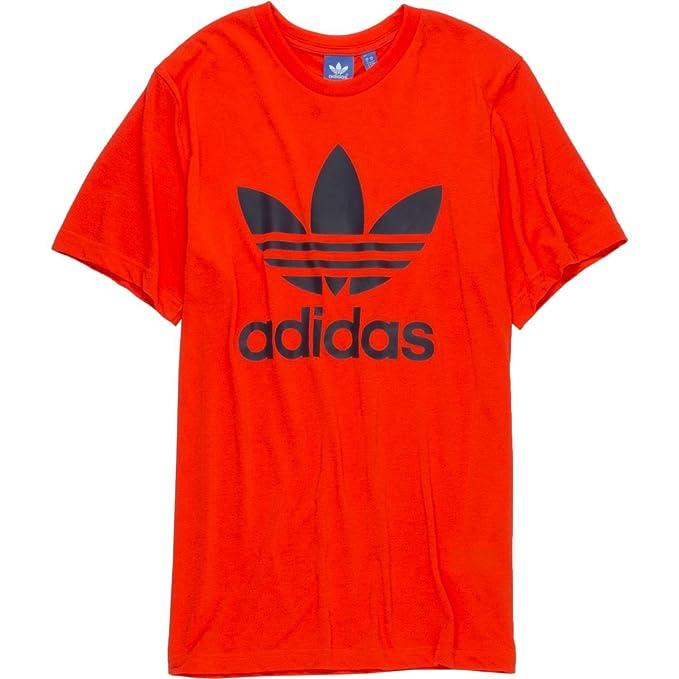 Amazon.com: adidas Originals Trefoil 2 T-Shirt - Short-Sleeve - Mens ...