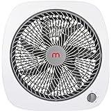 "Mistral 10"" Circulator Table Fan, White"