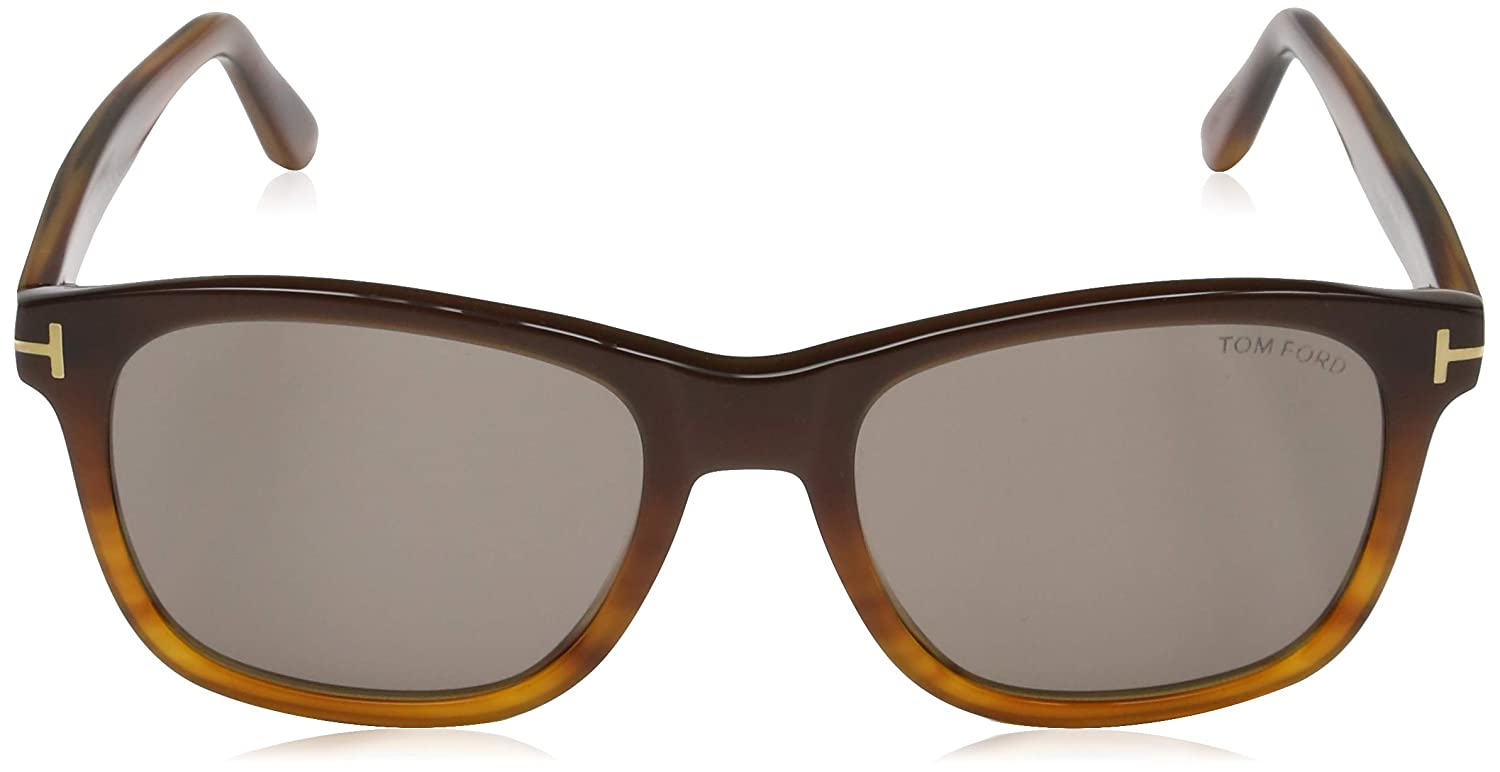 Brown Tom Ford Mens Sonnenbrille FT0595 50E 55 Sunglasses Brown 55.0