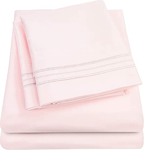 21 inch Extra Deep Pocket Twin Over 40 Colors Luxury Soft Bed Sheets Beige 1500 Supreme Collection Extra Deep Pocket Sheets Set Hypoallergenic Bedding Wrinkle Free