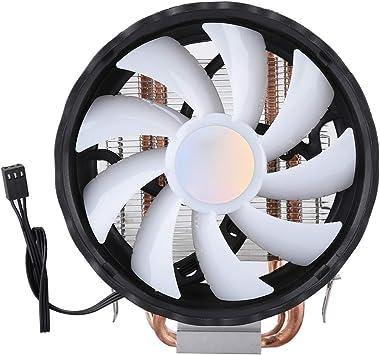 12cm 2 Tube Ventilador de la CPU,Single Fan Radiador de ...