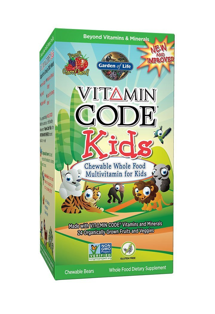 Amazon.com: Garden of Life Vitamin Code Kids, 30 Chewables (3 Pack ...