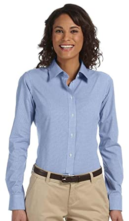 9a90125f6f2 Chestnut Hill Ladies  Executive Performance Broadcloth at Amazon Women s  Clothing store