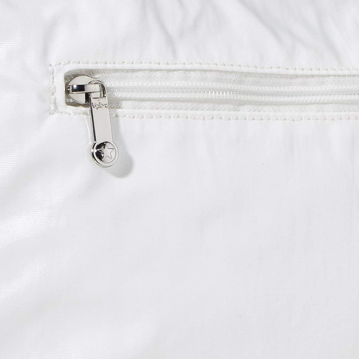 Kipling Bag Bianco (White Metallic)