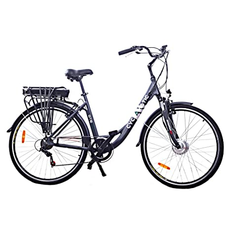 Cyclamatic Gte Pro Step Through Electric Bike With Lithium Ion