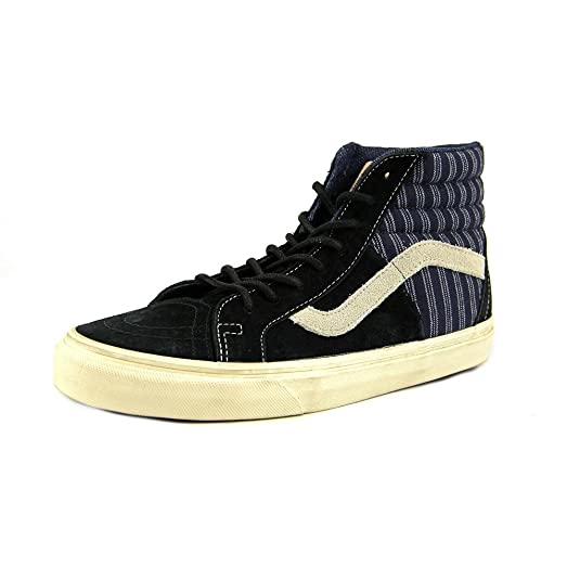 Sk8 Hi Mens Size 10.5 Black Canvas Skate Shoes