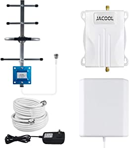 Verizon Cell Phone Signal Booster 4G LTE Cell Phone Booster Verizon Cell Signal Booster Verizon Cell Booster Extender Mobile Signal Repeater Amplifier 700MHz Band 13 for Home Room Improve Cell Signal