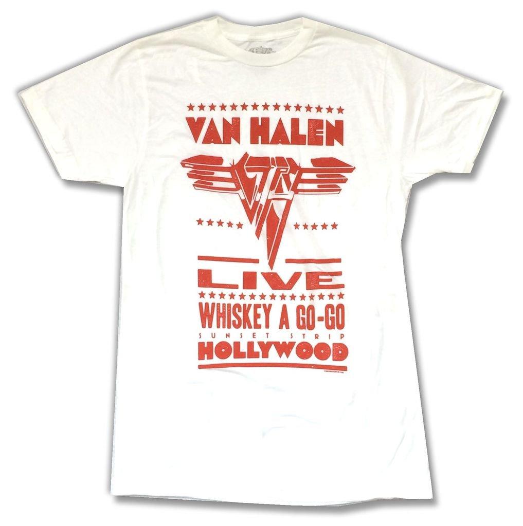 Van Halen Whiskey A Go Go Hollywood Ca Soft Shirts