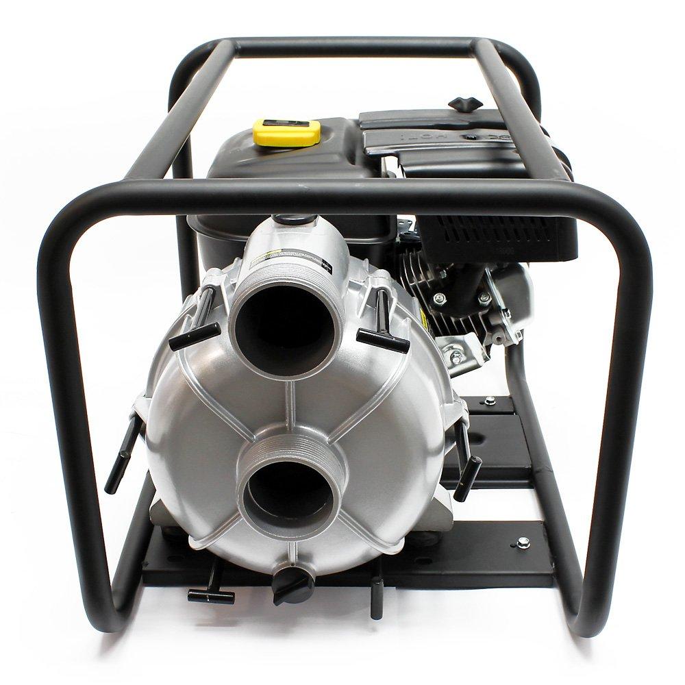 LIFAN motopompe /à essence pour eaux sales 66m/³//h 30m 4.8kW 6.5CV 89mm 3.5 pompe de jardin