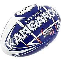 AFL North Melbourne Kangaroos 20cm Large/Soft Rugby Ball Play/Game Kids