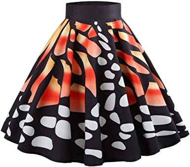 MOMOXI Faldas para Mujer, Falda del Partido de Tarde de la ...