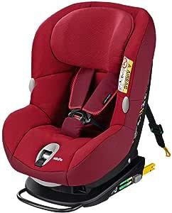 Bébé Confort MiloFix Silla de auto de 0 a 4 años, 0-18 kg, color rojo (Robin Red)