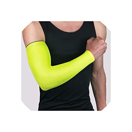 Anti UV Sun Protective Arm Elbow Sleeves Cover Outdoor Sports Oversleeves Cuffs