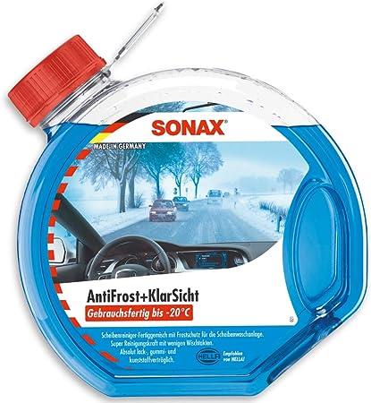 Sonax 332 400 490 Antifrost Klarsicht Gebrauchsfertig Bis 20 C 3 Liter Auto