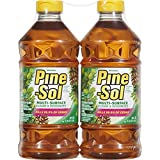 Pine-Sol 041294973281 Multi-Surface Cleaner, Original Scent, Two Count Bottle, 80 fl oz (2x40)