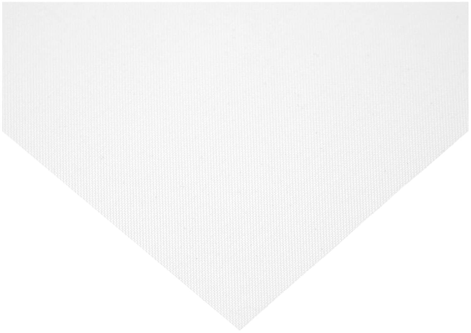 Opaque Off-White 12 Length 12 Width Polyester Mesh Sheet 300 microns Mesh Size 46/% Open Area