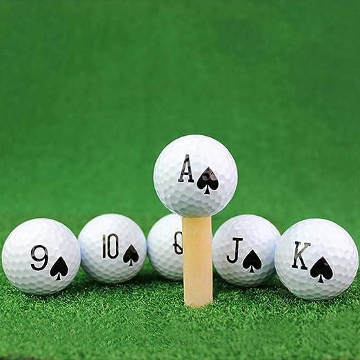 YSHTAN Pelotas de golf, pelota de deporte, pelota de póquer ...
