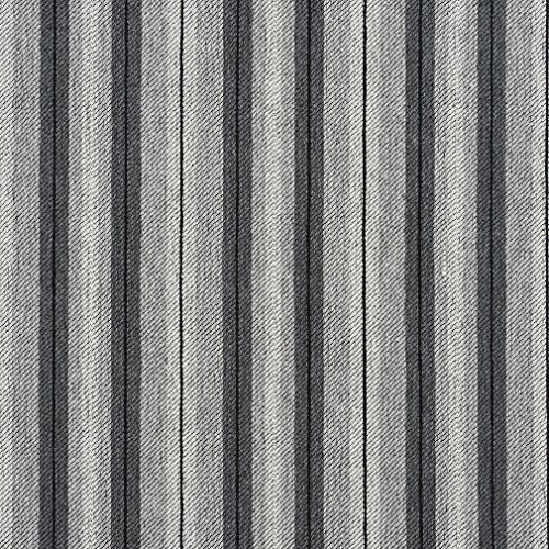 E820 Grey Striped Jacquard Upholstery Fabric By The Yard